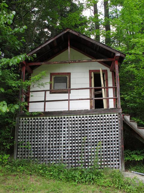 Abandoned Cottage near North Hudson, New York