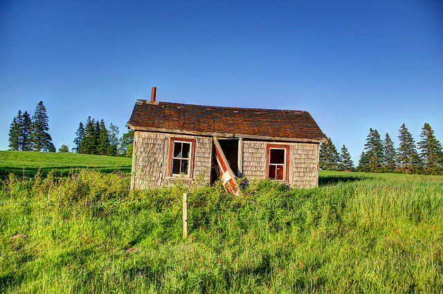 Leaning Cottage, Crapaud, Prince Edward Island, Canada