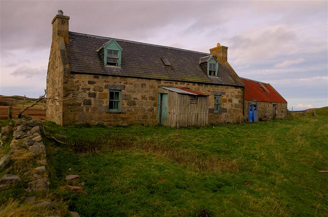 Secluded Cottage, Dava Moor, Morayshire