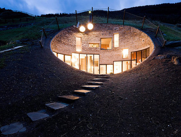 Swiss Underground Cottage