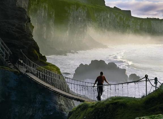 The Precarious Rope Bridge