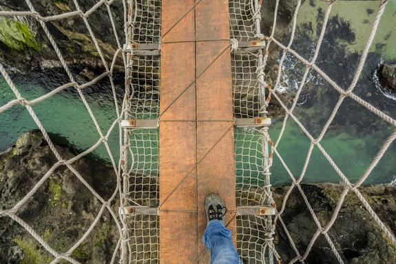 The Precarious Rope Bridge - Pic 2